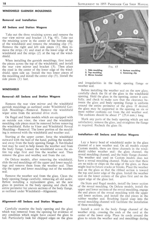 1955 studebaker supplement manual