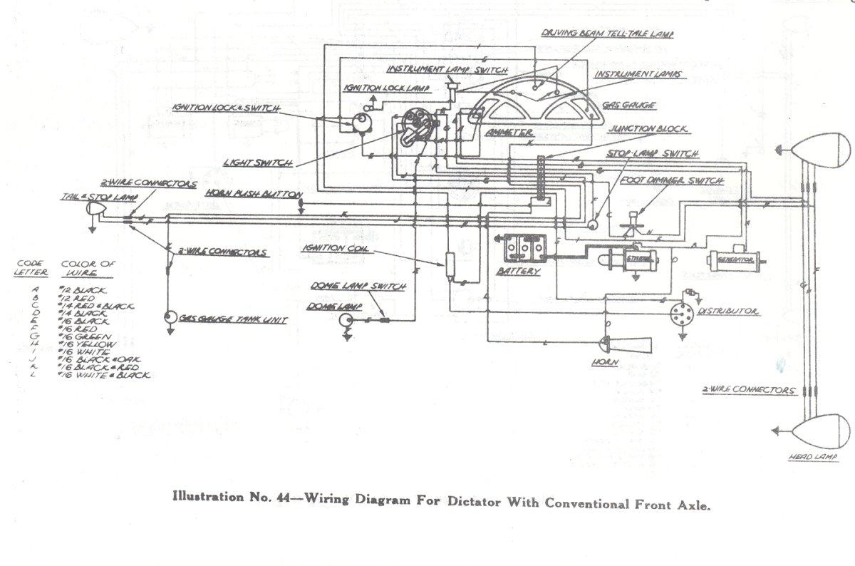 1936Studebaker Wiring Diagram