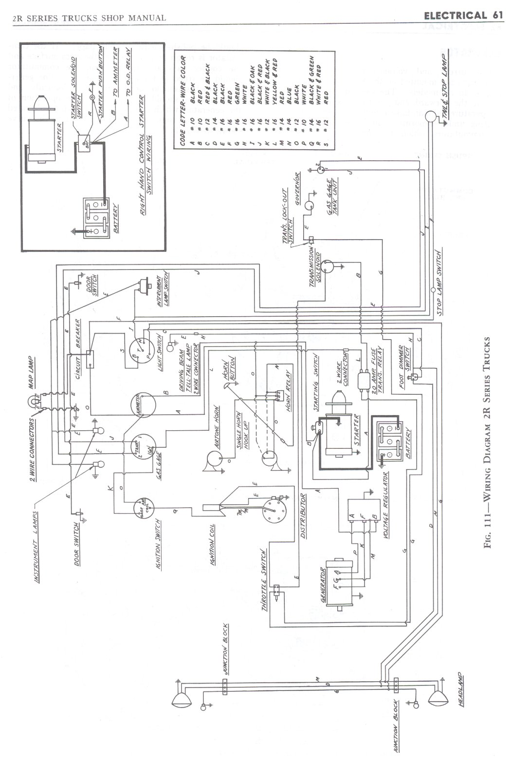 Electrical Wiring Diagram For 1941 1946 Studebaker President